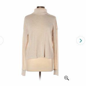 Wilfred Cream Turtleneck Sweater